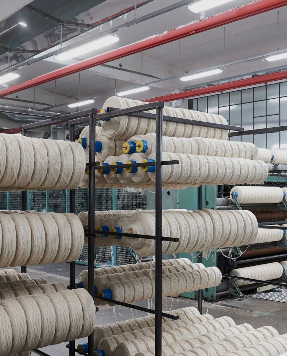 Production of textile yarn