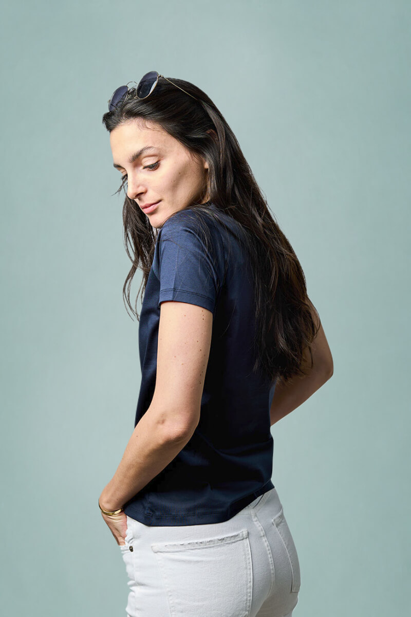 Sustainable T-shirt made of European cotton by Muntagnard